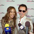 Jennifer Lopez et Marc Anthony, avant-première du film  Le plan B , à Miami, le 14 avril 2010 !