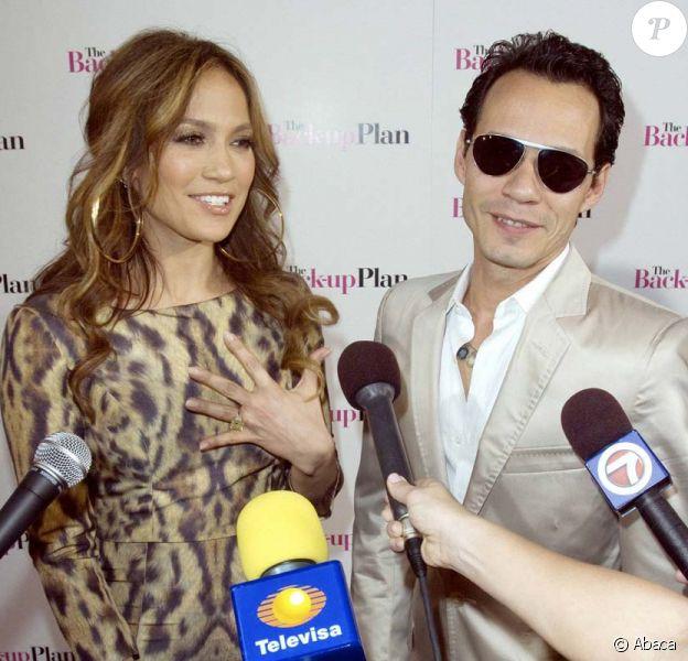 Jennifer Lopez et Marc Anthony, avant-première du film Le plan B, à Miami, le 14 avril 2010 !