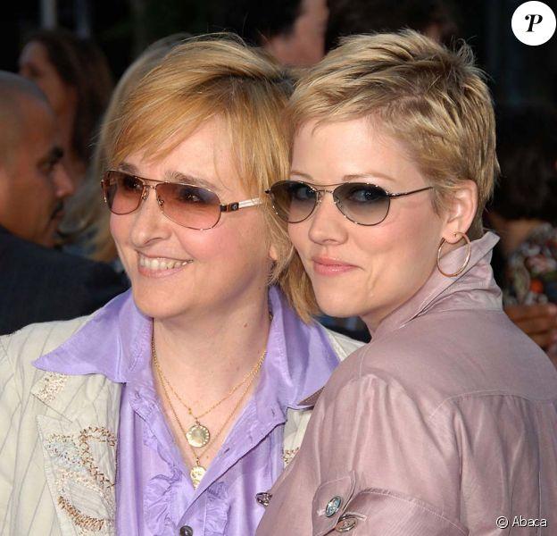 Melissa Etheridge et sa compagne Tammy Lyn Michaels, en 2007