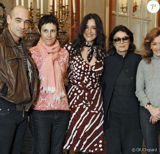 Jean-Marc Barr, Carole Scotta, Florence Ben Sadoun, Anouk Aimée et Caroline Gruosi-Scheufele