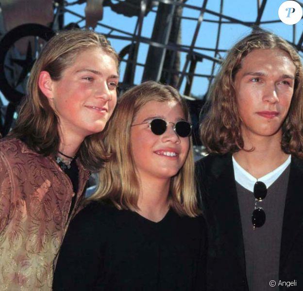 Les frères Hanson à leurs débuts, Los Angeles, 1998 !