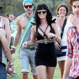 Katy Perry lors du festival de Coachella en Californie le 16 avril 2010