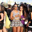 Solange Knowles lors du festival de Coachella en Californie le 16 avril 2010