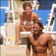 Francesco Totti et Ilary Blasi dans une troisième pub pour Vodafone.