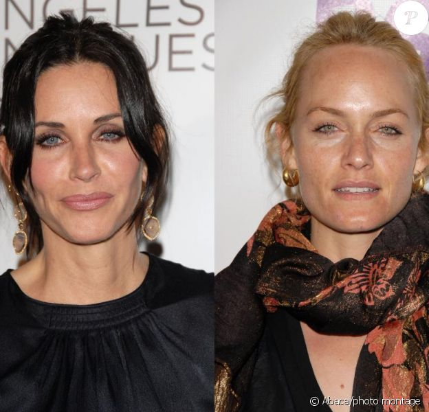 Courteney Cox et Amber Valletta : combat de looks !