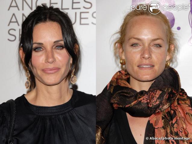 Courteney Cox et Amber Valletta : combat de looks !