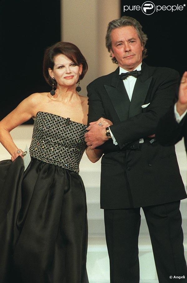 Claudia Cardinale couple