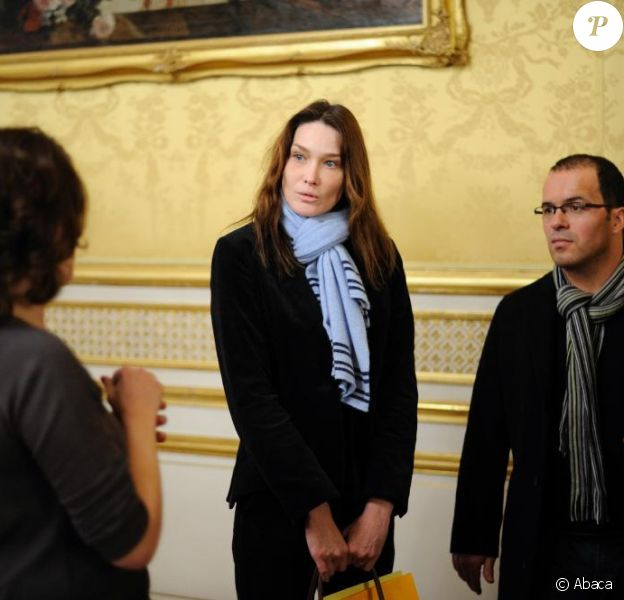 Carla Bruni et Luc Barruet