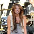 Miley Cyrus en concert pour l'association Make a wish (28 avril 2010 à  Los Angeles)