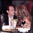 Jennifer Lopez et Marc Anthony, sortie en amoureux lors de la soirée US Weekly Hot Hollywood Style Issue au nightclub Drai's à Hollywood