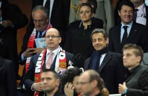 Albert II de Monaco, sa chérie Charlene Wittstock et Nicolas Sarkozy assistent à la victoire du PSG... mais sans Carla !