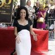 lors de l'inauguration de l'étoile sur le Walk of Fame de Julia Louis-Dreyfus le 04 mai 2010