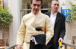 PHOTOS : Antonio Banderas lors d'une procession religieuse en Espagne...