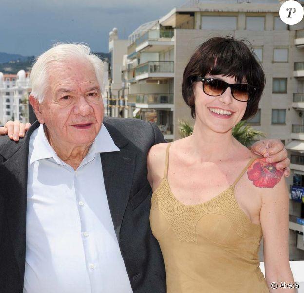 Michel Galabru et Lio défendent Un poison violent de Katell Quillevéré à la quinzaine des réalisateurs - Cannes, le 15 mai 2010 !