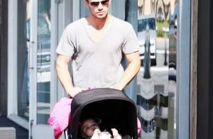 Cam Gigandet de Twilight : pendant que Cannes gronde, il reste au calme... et en famille !