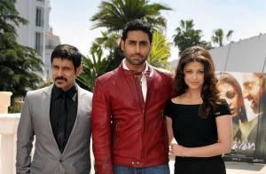 Cannes 2010 - Aishwarya Rai et son époux Abhishek : un duo amoureux qui présente son bébé !