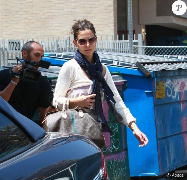 Katie Holmes à Los Angeles, le 19 mai 2010
