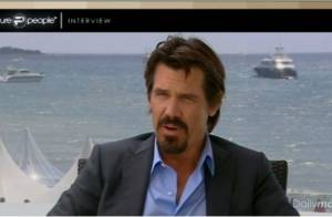 Cannes 2010 - Interview Exclu : Le grand Josh Brolin nous raconte Wall Street et ses souvenirs cannois...