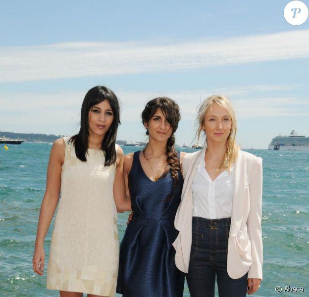 Audrey Lamy, Leïla Bekhti et Géraldine Nakache, à Cannes, en mai 2010.