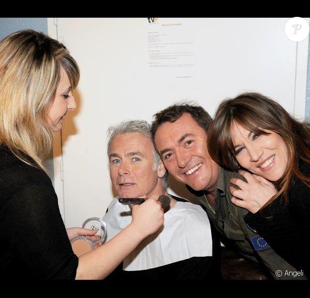 Fabien Onteniente, Franck Dubosc et Mathilde Seigner