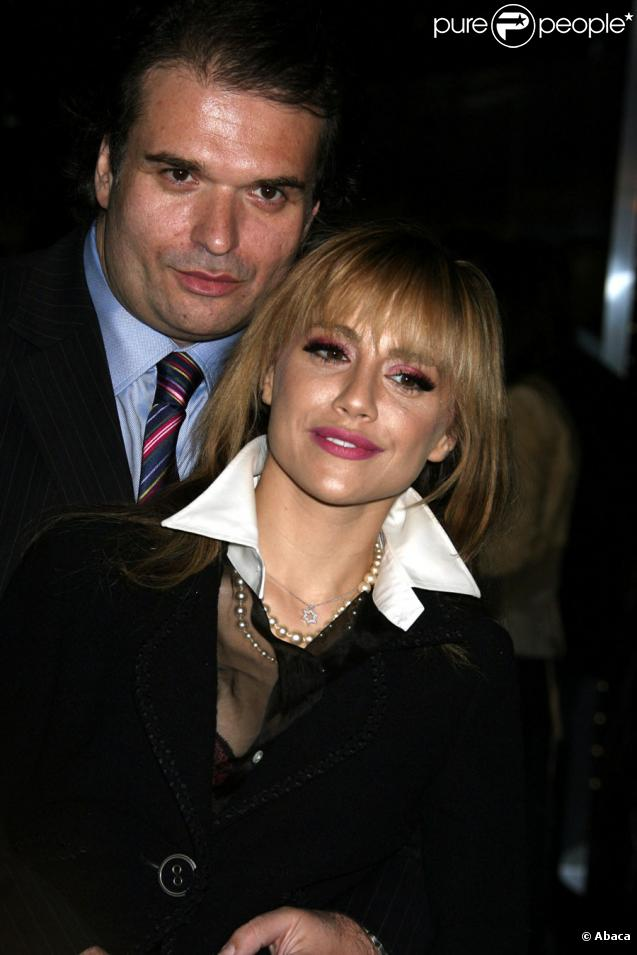 Brittany Murphy et son mari Simon Monjack