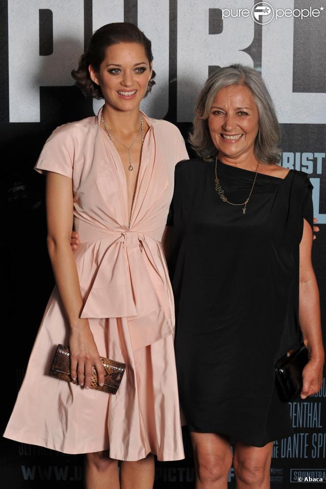 Marion Cotillard et sa mère Niseema Theillaud