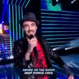 François reprend Smoke on the water dans Nouvelle Star