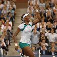 Venus Williams et les années 2000 : 10 ans de looks en courts complètement fous, fashion, bariolés, osés et courts évidemment ! Ici à l'US Open en septembre 2007.