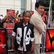 "Regardez Jackie Chan en fan de baseball... face au jeune fils de Will Smith en ""Karate Kid"" !"