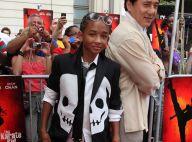 """Regardez Jackie Chan en fan de baseball... face au jeune fils de Will Smith en """"Karate Kid"""" !"""