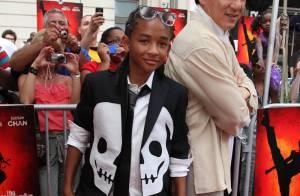 Regardez Jackie Chan en fan de baseball... face au jeune fils de Will Smith en