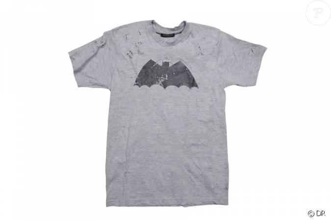 Le tee-shirt Batman Balmain pour la collection collector ...