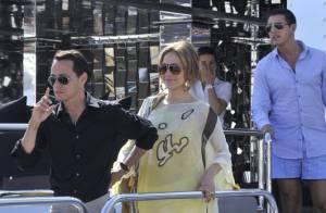 Jennifer Lopez et Marc Anthony amoureux de notre pays... et tellement l'un de l'autre !