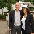 Salma Hayek et François-Henri Pinault à Roland-Garros. 30/05/2010