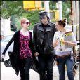 Evan Rachel Wood et Marilyn Manson sur tournage de  Mildred Pierce  de Todd Haynes, à New York le 28 mai 2010 !