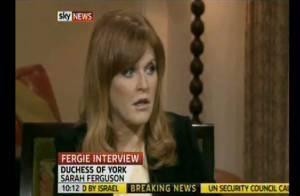 Scandale des pots de vin - Sarah Ferguson se confie à la télévision US :