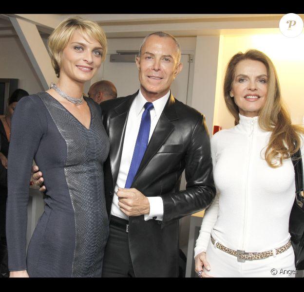 Sarah Marshall et Jean-Claude Jitrois lors de la soirée Montblanc