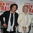 John Densmore batteur du groupe The Doors et Tom DiCillo lors de la projection en avant-première du documentaire sur les Doors When You Are Strange au MK2 Gambetta à Paris le 1er juin 2010