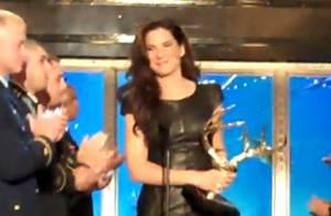 Sandra Bullock : sublime pour sa première sortie depuis son divorce... et honorée devant le beau Bradley Cooper !