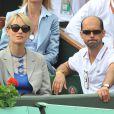 lors de la finale hommes de Roland-Garros le 6 juin 2010