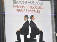 Photos : Chevallier et Laspales se partagent 'Le banc' au théatre Montparnasse...