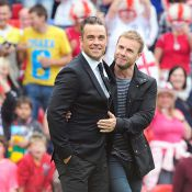 Robbie Williams en studio avec Gary Barlow de Take That... en route pour la réunification ?