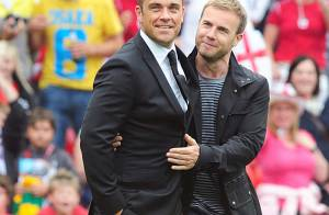 Robbie Williams en studio avec Gary Barlow de Take That... en route pour la réunification ?