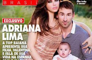 Adriana Lima pose en famille pour un magazine très particulier !