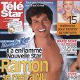 Ramon, de Nouvelle Star, en couverture de Télé Star