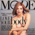Kate Dillon en couverture de Mode en janvier 2001