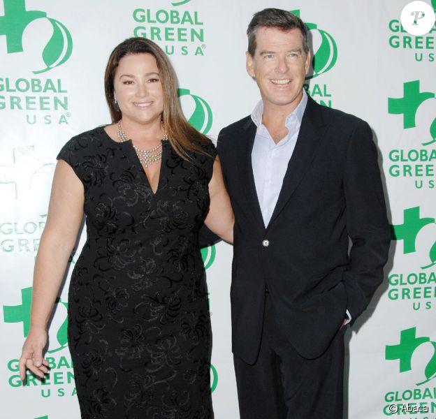Pierce Brosnan et sa femme Keely Shaye Smith  à l'événement Global Green, 14ème cérémonie Milelnium awards (12 juin 2010 à Santa Monica)