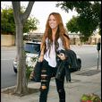 La chanteuse américaine Miley Cyrus