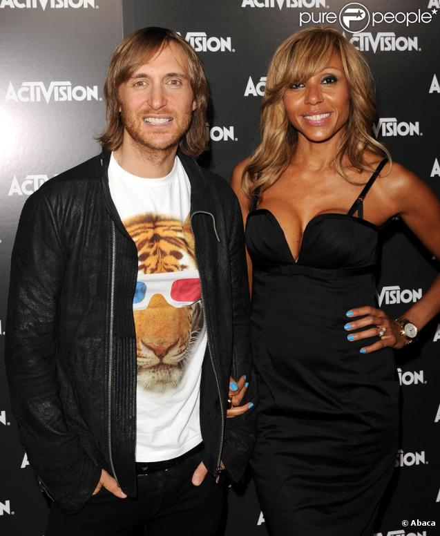 david et cathy guetta amoureux et complices au beau milieu des starlettes d 39 hollywood. Black Bedroom Furniture Sets. Home Design Ideas