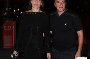 Le grand Quentin Tarantino vous présente la ravissante jeune femme qui a volé son coeur...